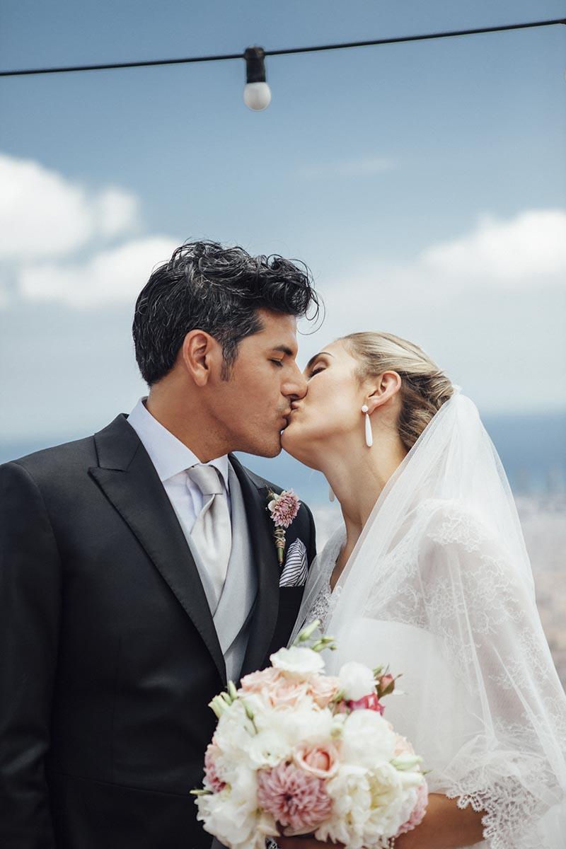 Fotos boda en el Sagrat Cor de Jesús del Tibidabo