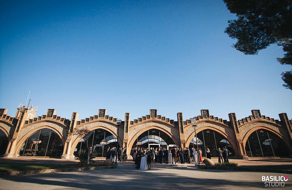 espais luxosos on casar-se a Catalunya - convent de blanes - caves codorniu