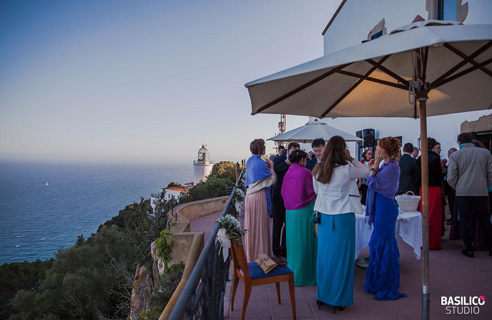 espais luxosos on casar-se a Catalunya - Far de sant sebastià