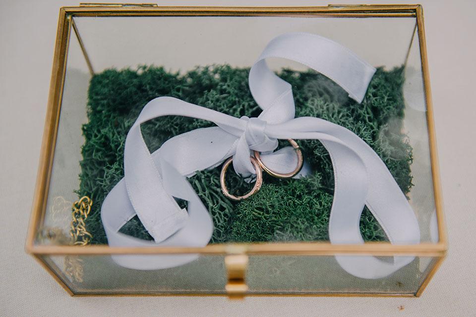 Idees originals de porta anells per a la teva boda
