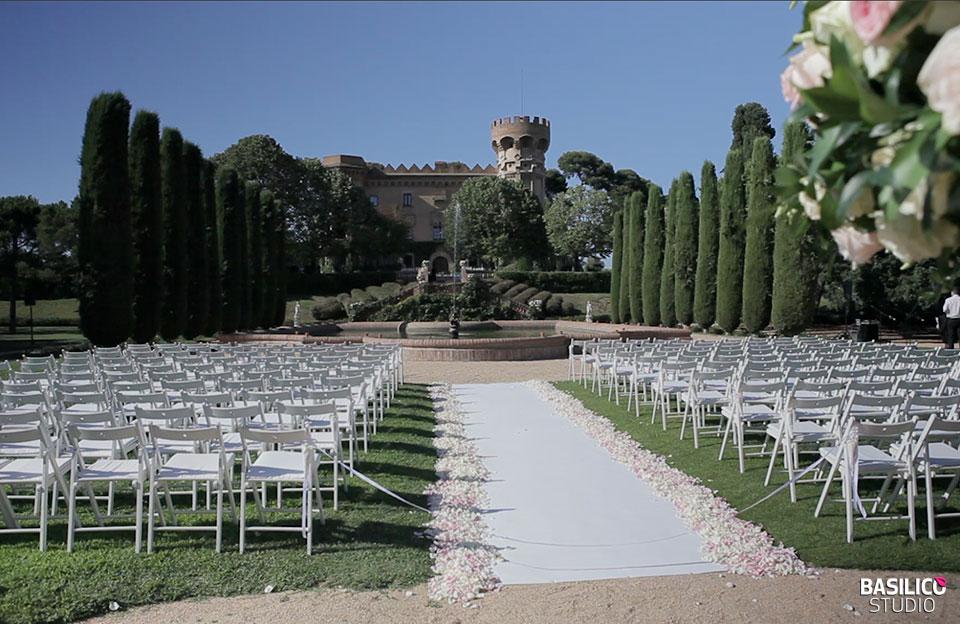 15 llocs amb encant on casar-se a Barcelona - Castell Sant Marçal