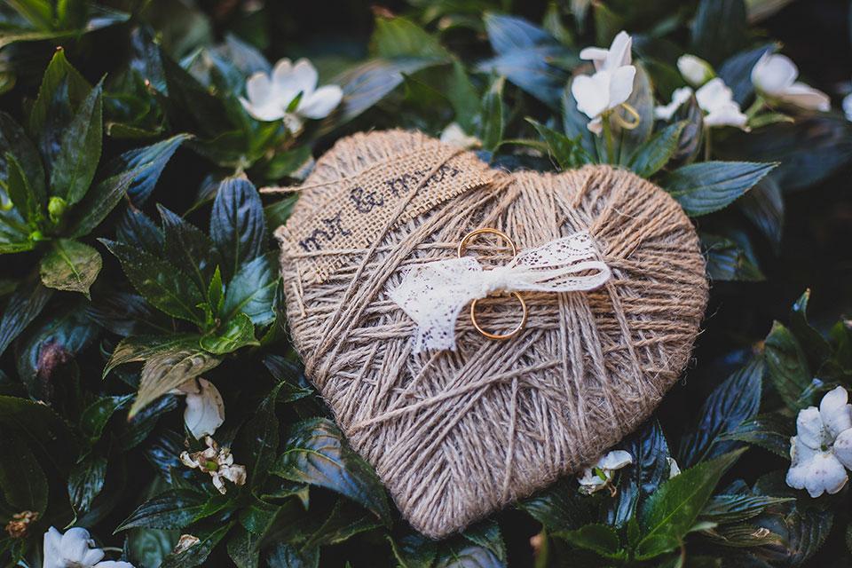 porta anells boda coixinet
