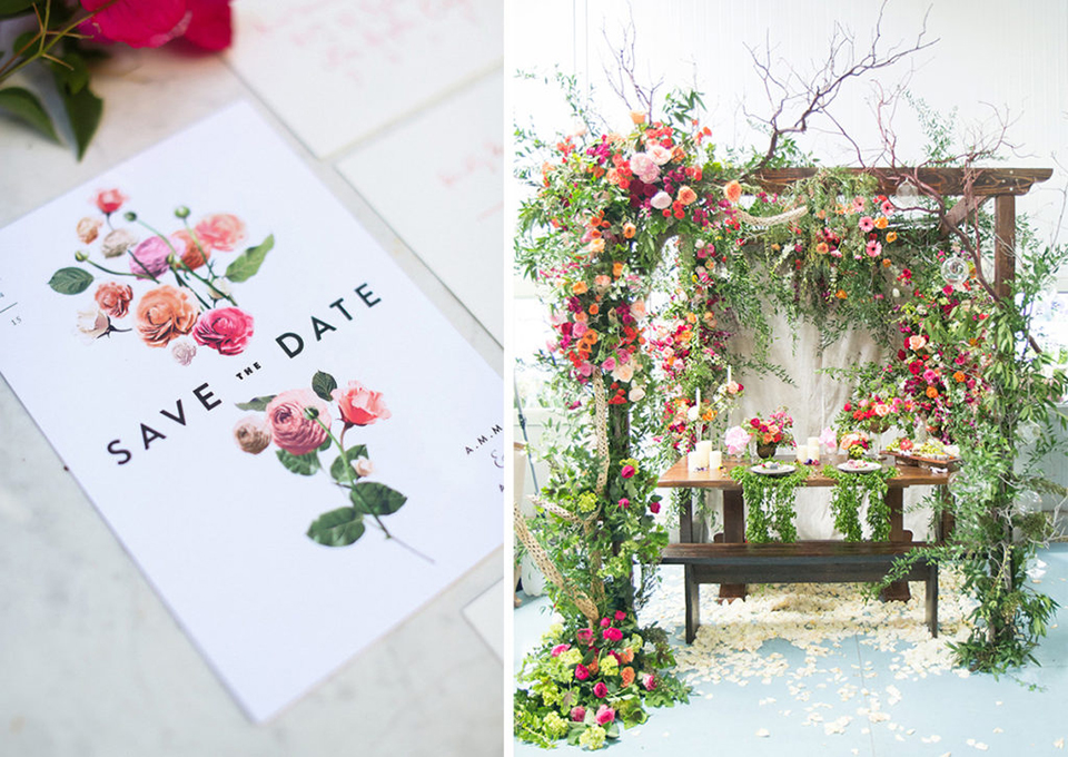 Tendencias boda 2018