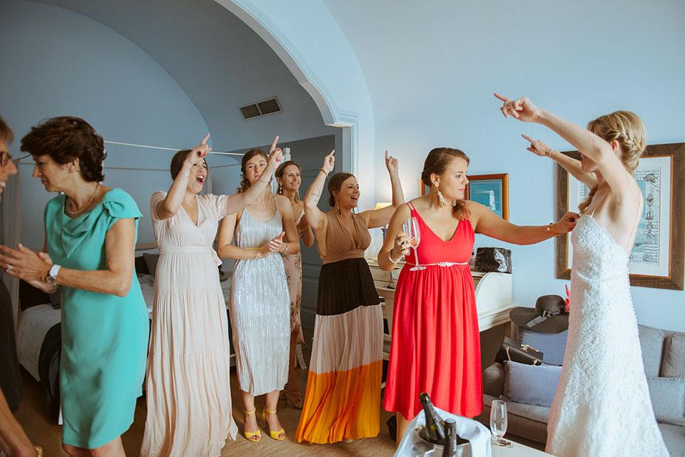 Fotos boda súper divertida Costa Brava