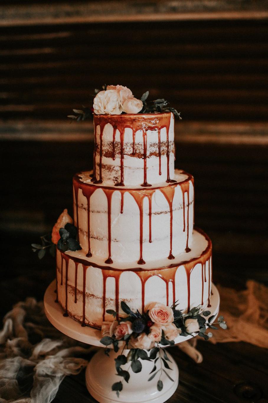 Tendencias boda 2019 pasteles