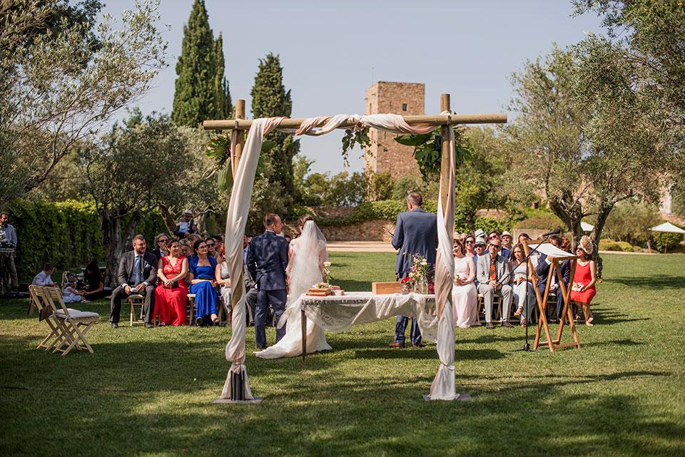 Castillos donde casarse en Cataluña